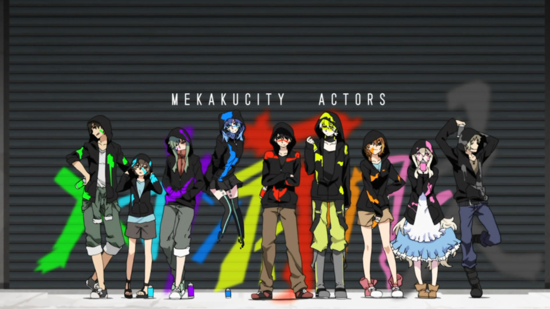 Mekakucity Actors