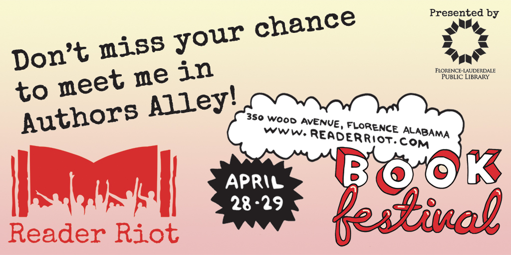 Come read and riot at READER RIOT!